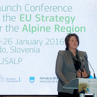 Violeta Bulc, European Commissioner for Transport