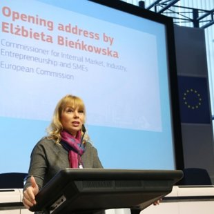 Elżbieta Bieńkowska, European Commissioner for Internal Market, Industry, Entrepreneurship