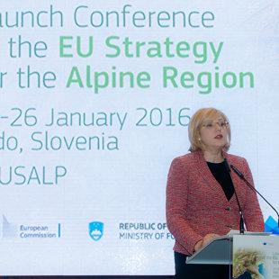 Corina Creţu, European Commissioner for Regional Policy